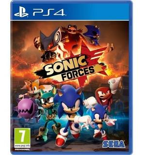 Sonic Forces Ps4 Fisico Sellado Cuotas Sin Interes Ade Ramos