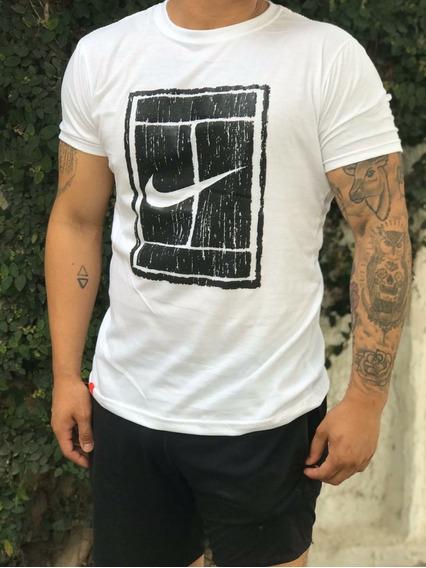Remera Logo Pipa Nike Estampado Hombre