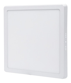 Plafon Quadrado Sobrepor 25w Led Branco Frio Painel Bivolt