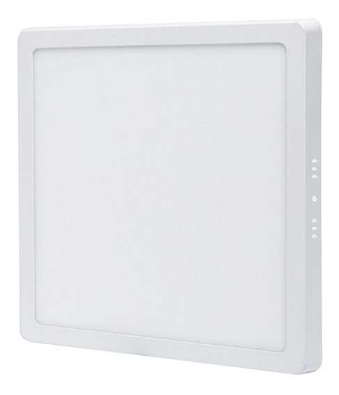 Plafon Quadrado 25w Sobrepor Led Branco Frio Painel Bivolt