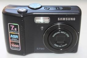 Câmera Samsung S730 7.2 Megapixels Usada