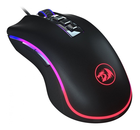 Mouse Gamer M711 Fps King Cobra Redragon Light Strike Rgb