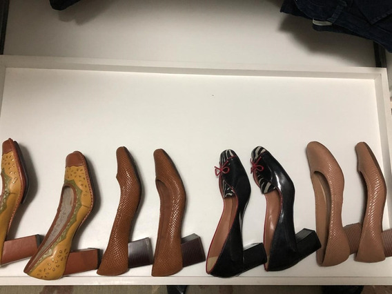 Lote Sapato Feminino Soulier 4 Peças Semi Novos