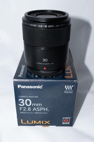 Lente Para Câmera Fotográfica Panasonic - Lumix G Macro 30mm