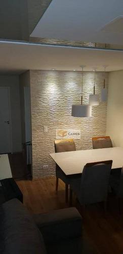 Apartamento Com 2 Dormitórios À Venda, 50 M² Por R$ 220.000,00 - Jardim Das Oliveiras - Campinas/sp - Ap7814