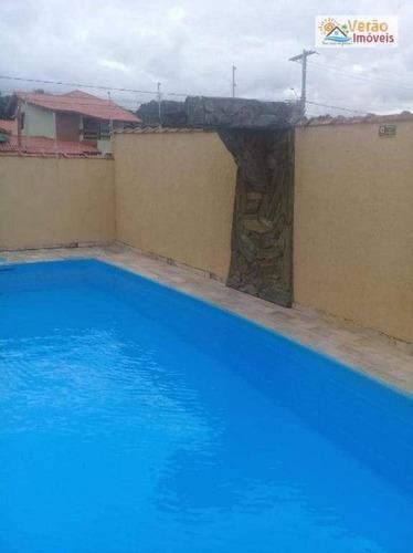 Imagem 1 de 5 de Casa Com 4 Dormitórios À Venda, 190 M² Por R$ 428.000,00 - Residencial Parque Augustus - Itanhaém/sp - Ca0905