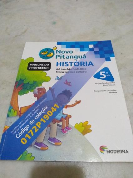 Novo Pitanguá História 5o Ano Professor Pnld 2019
