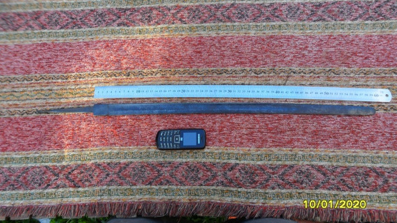 Antigua Hoja Espada Policía Solingen Kirschbaum Gallo Gallit