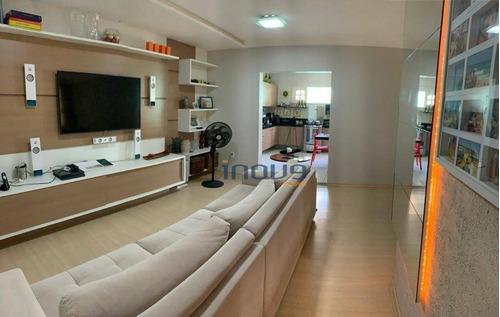 Casa Com 3 Dormitórios À Venda, 180 M² Por R$ 450.000,00 - Parque Dois Irmãos - Fortaleza/ce - Ca0978