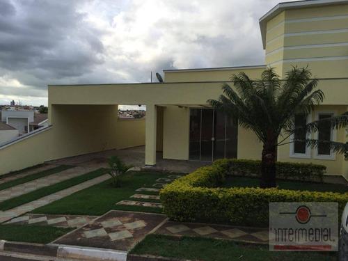 Imagem 1 de 3 de Ótima Casa No Condomínio Portal Dos Pássaros - Ca2209