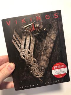 Vikings Temporada 4 Parte A Blu Ray Con Cover - Cuotas S/int