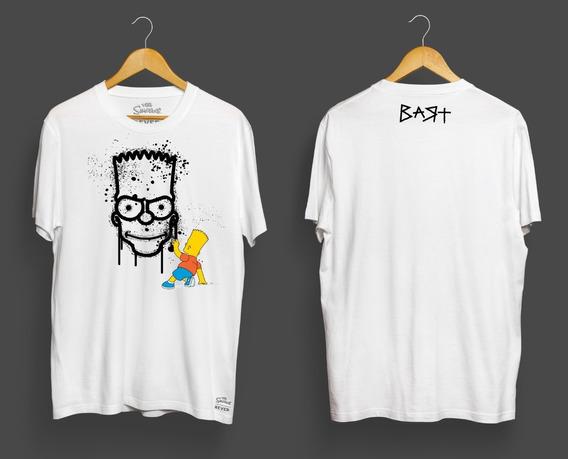Rever Pass Hombre Remeras Nuevas Simpsons Talle M - Liquido