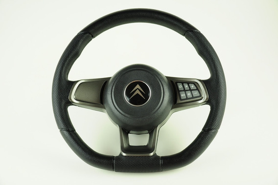 Volante Esportivo Comando De Som Gti Mk7 Citroën C3 + Cubo