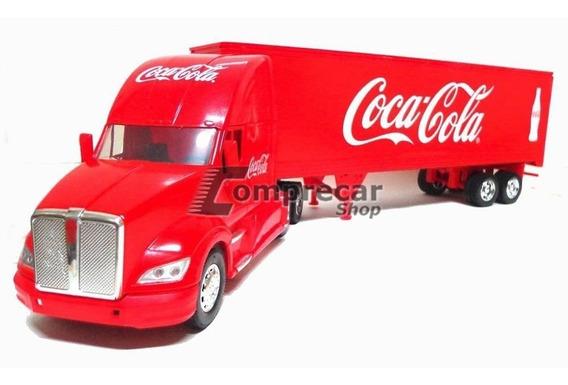 Miniatura Caminhão Kenworth T700 Coca Cola 1/32