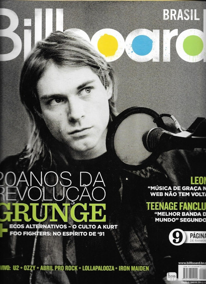 Revista Billboard 19 - Nirvana,