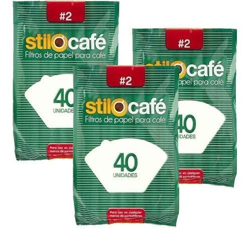 Filtros De Papel Para Cafetera #2 Para 8-10 Tazas - 120 Unid