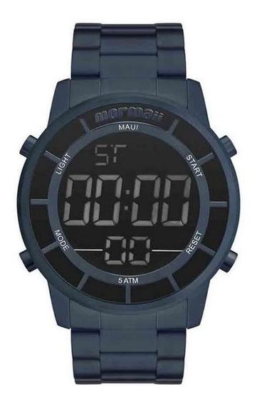 Relógio Mormaii Mobj3463dd/4a Mobj3463dd 4a Aço Azul