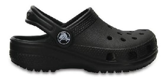 Crocs Classic Kids Niños Black Negro En La Plata