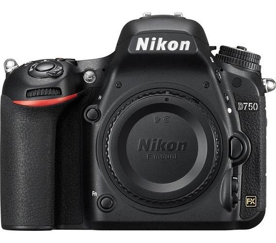 Nikon D750 Corpo Full Frame Nota Fiscal
