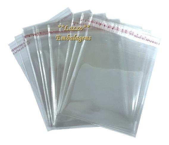 300 Embalagens Saco 30x40cm Para Roupas Transparente Colante