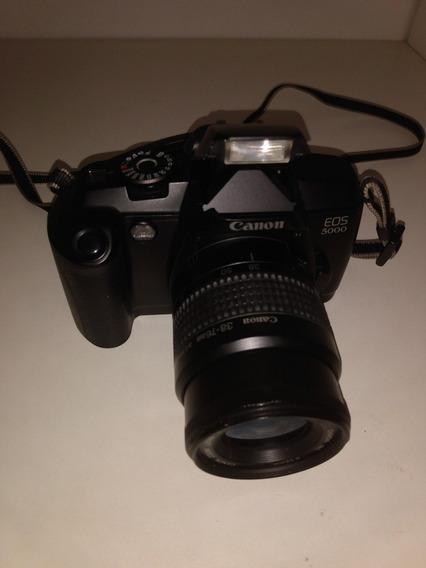 Câmera Profissional, Canon Eos 5000, Canon 38-76mm