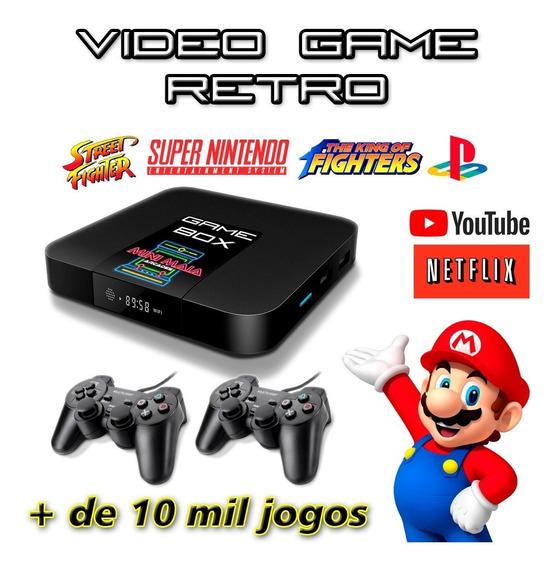 Vídeo Game Retro-box 2 Controles Usb