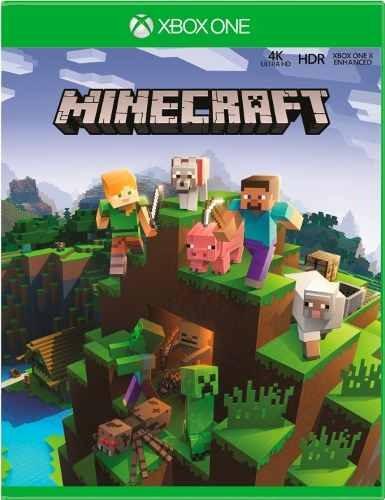 Minecraft Xbox One Mídia Física Português Lacrado