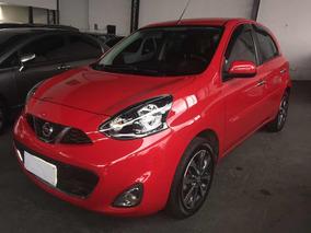 Nissan March 1.6 16v Sl 5p 2015 Vermelho Top