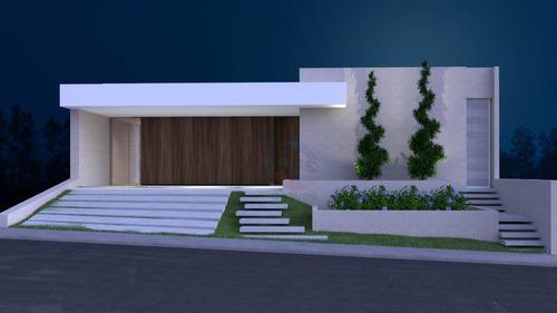 Imagem 1 de 11 de Casa Com 3 Suítes  À Venda, 223 M² Por R$ 1.450.000 - Condomínio Maria José - Indaiatuba/sp - Ca11631