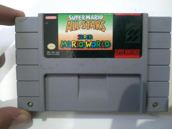 Super Mario Allstar + Super Mario Word Original Salvando