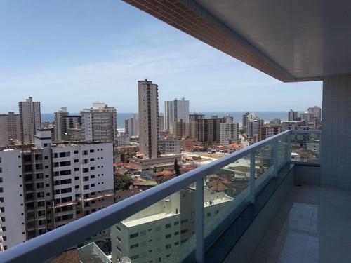 Imagem 1 de 14 de Amj149 Apartamento 2 Dormitórios Prox Praia- Alto Padrão