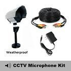 Outdoor Microphone Kit For Samsung Sdh-b85100bf, Sdh-st581,