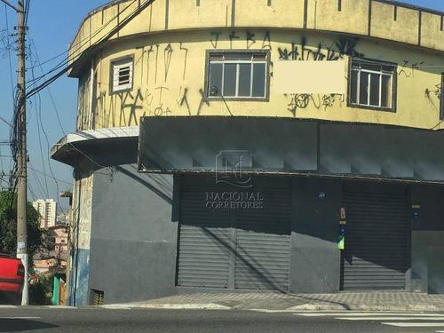 Prédio Comercial À Venda, Vila Curuçá, Santo André. - Pr0093