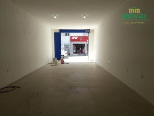 Imagem 1 de 8 de Loja Para Alugar, 380 M² Por R$ 5.000/mês - Centro - Fortaleza/ce - Lo0017