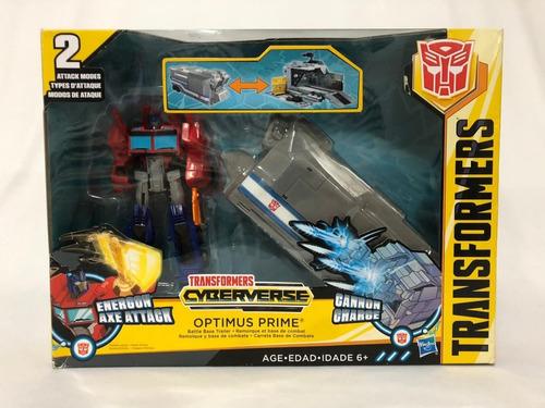 Transformers Cyberverse Optimus Prime Lacrado