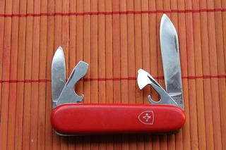 Antigo Canivete Victorinox Recruit Modelo Antigo - Coleção
