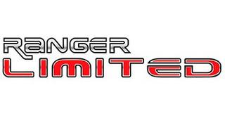 Adesivo Limited Ranger - C2422 2001 2002 2003