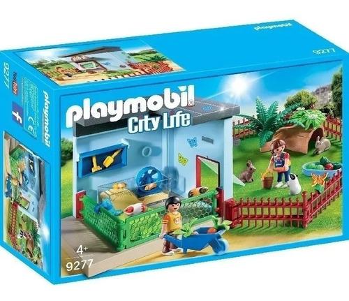 Imagen 1 de 5 de Playmobil Habitacion Para Mascotas City Life 9277 Educando