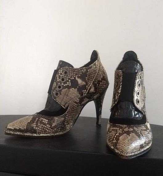 Zapatos Blaqué Reptil (talle 36)