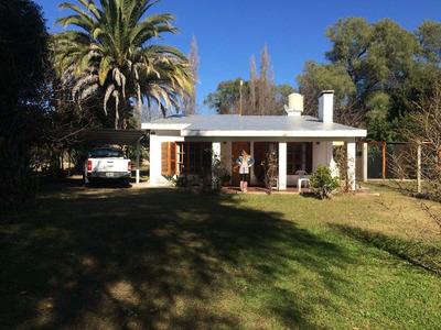 Casa Quinta En Hermoso Espacio Verde De 1500 Mts - San Luis