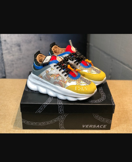 Tênis Chain Reaction Versace