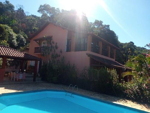 Imagem 1 de 27 de Chácara Com 3 Dormitórios À Venda, 2760 M² Por R$ 750.000,00 - Aralú - Santa Isabel/sp - Ch0001