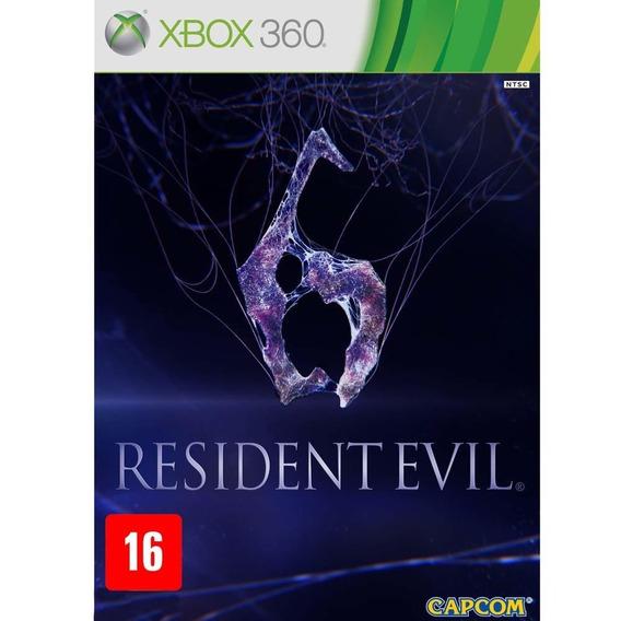Game Resident Evil 6 Para Xbox 360 Mídia Física