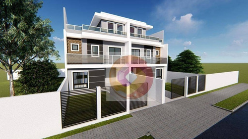 Sobrado Com 3 Dormitórios À Venda, 150 M² Por R$ 675.000,00 - Capão Da Imbuia - Curitiba/pr - So0130
