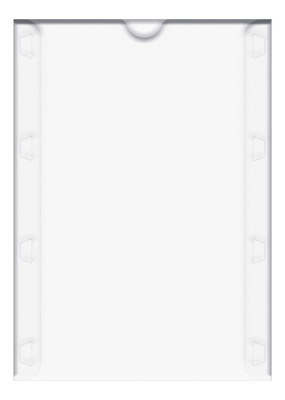Display Porta Documentos Multiuso A4 Cristal