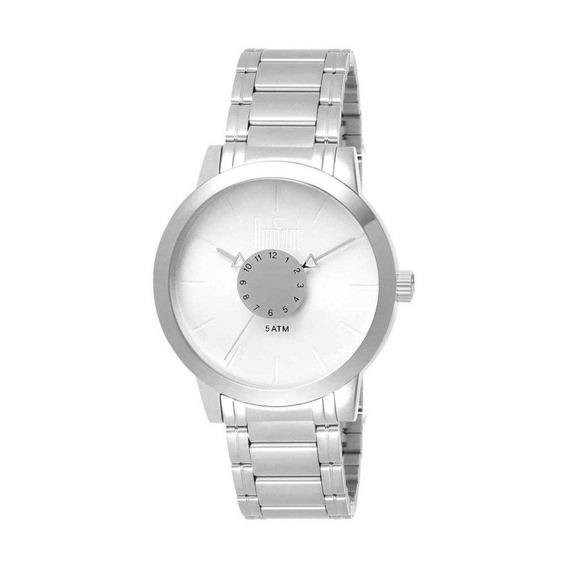 Relógio Dumont Feminino Elements Du2036mfc/3k Prata