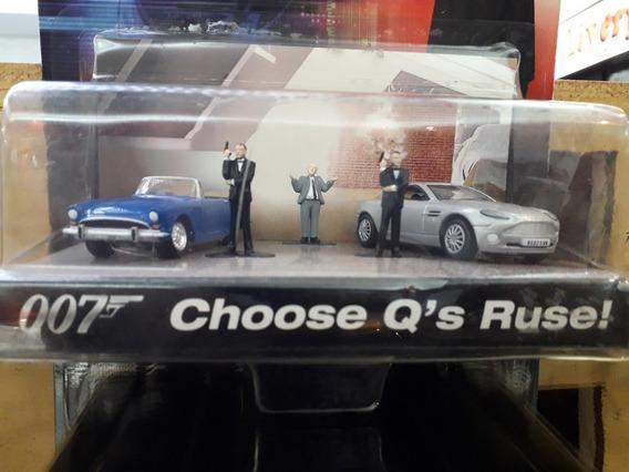 James Bond Diorama Jhonny Lightning Escala 1/64. En Stock