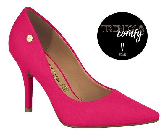 Zapatos * Vizzano* Stiletto Taco Alto Plantilla Confort Pink