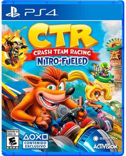 Crash Team Racing Ps4 - Juego Digital Principal