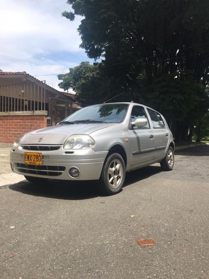 Renault Clio Dynamique 2002 Buenas Condiciones